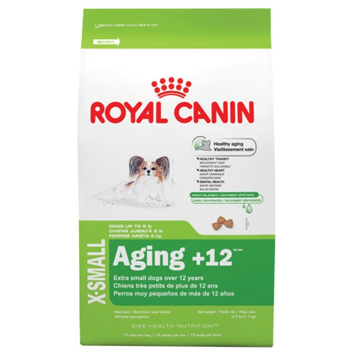 Royal Canin Extra Small Aging +12 Dog 4/2.5#