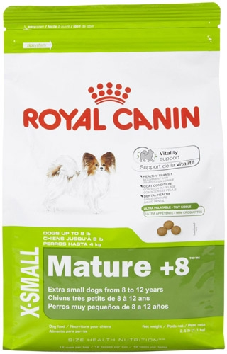 Royal Canin Extra Small Mature +8 Dog 4/2.5#