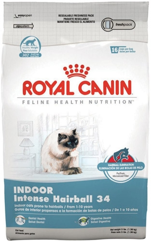 Royal Canin Indoor Intense Hairball Cat 3 lb