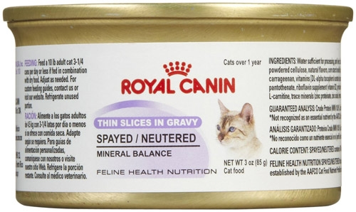 Royal Canin Spayed/Neutered Cat 24/3 oz