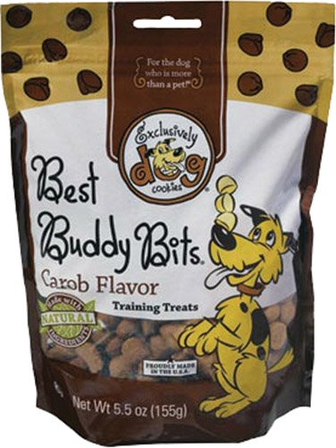 Exclusively Pet Best Buddy Bits Carob Chip Flavor 12/5.5 oz.
