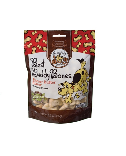 Exclusively Pet Best Buddy Bones Peanut Butter 12/5.5 oz.