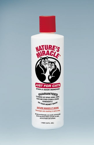 Nature's Miracle Just For Cats Stain and Odor Remover 16 oz