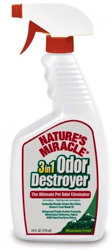 3IN1 ODOR DESTR MT FRESH 24OZ