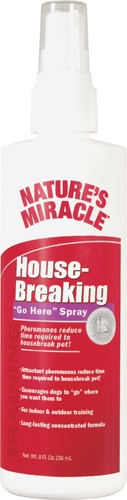 NM HOUSEBREAK GO HERE 8OZ SPRY