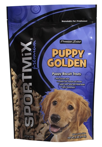 Midwestern Pet Sportmx Biscuit Puppy Gold 2#