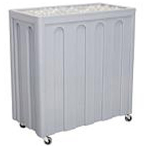 Iowa Rotocast Insulated Rolling Cooler, with Lid
