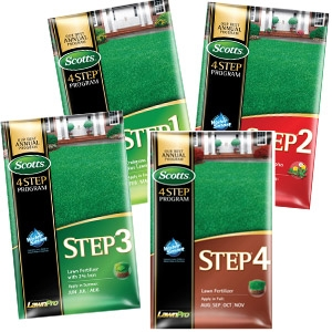 Scotts Lawn Pro 4 Step Fertilizer Program