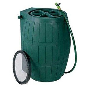 Achla 54-US Gallon Rain Catcher Barrel
