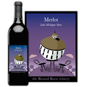 Round Barn Winery Lake Michigan Shore Merlot
