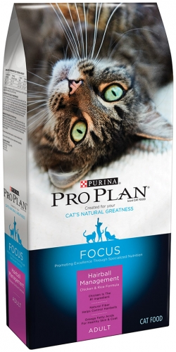Pro Plan Extra Care Hairball Management Cat Food, Seven Pound Bag