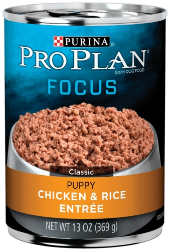 Pro Plan Canned Chicken and Rice for Puppies