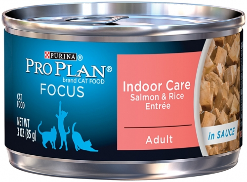 Pro Plan Indoor Cat Formula Salmon & Rice Entre