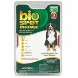 Bio Spot® Defense Flea & Tick Spot On® for Dogs Over 80 lbs. (1M SS) X-LARGE