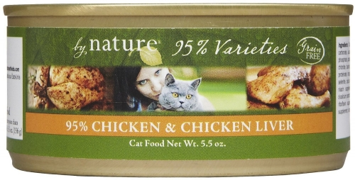 By Nature Natural 95% C/CL Cat 24/5.5 Oz