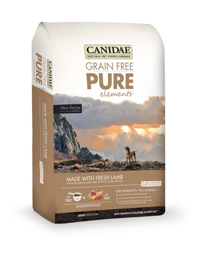Canidae Grain Free Pure Elements Lamb 24 lbs