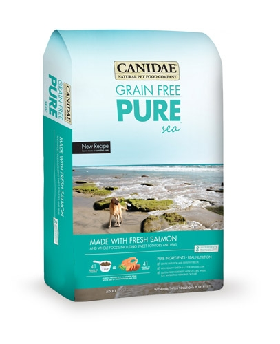 Canidae Grain Free Pure Salmon Dry Dog Food - 6/4 Lb.