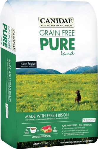 Canidae Pure Land with Bison 12 lb.