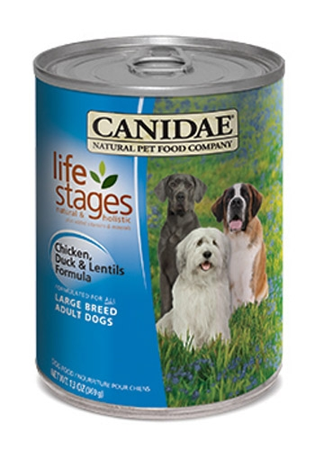 CANIDAE Large Breed Adult Formula Chicken, Duck & Lentils