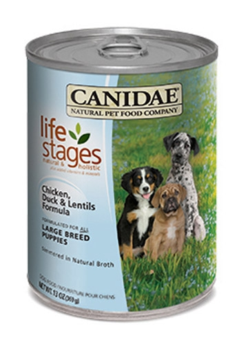 CANIDAE Large Breed Puppy Formula Chicken,  Duck & Lentils