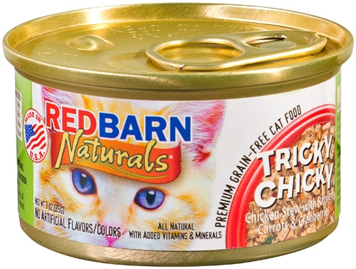Tricky Chicky Small Canned Cat Food 24/3oz