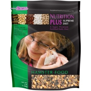 F.M. Brown's  Nutrition Plus Supreme Hamster Food 6/3 lb.