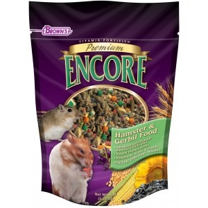 F.M. Brown's Encore Premium Hamster/Gerbil Food 6/5 lb. Case