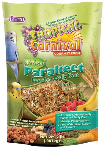 FM Brown's Tropical Carnival Natural Parakeet Food