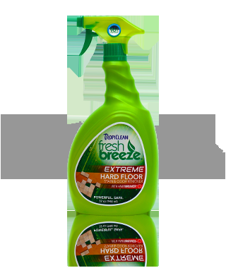 Tropiclean Fresh Breeze Hard Floor Stain & Odor Remover 32OZ