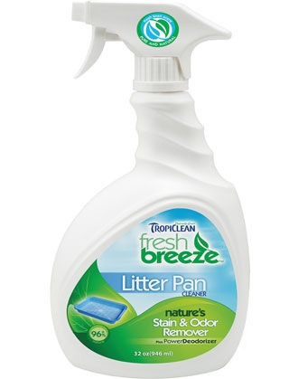 Tropiclean Fresh Breeze Litter Pan Cleaner 32OZ