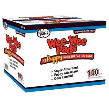 Four Paws Four Paws Wee Wee Pads 100 Count Bag