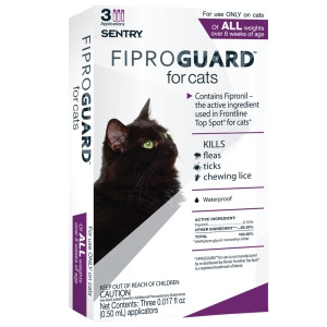 Sergeant's Fiproguard Flea & Tick Topical for cats all weights