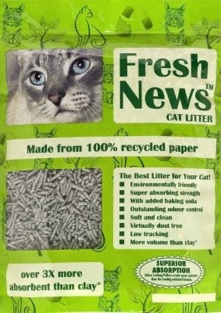 Fresh News Cat Litter 6/4 Lb