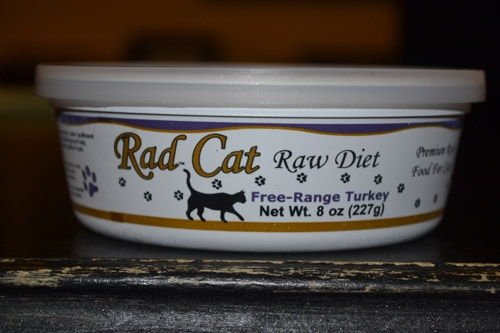 Radcat Raw Diet Free Range Turkey 8Oz