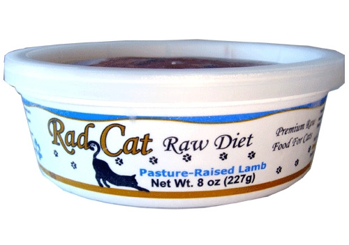 Radcat Raw Diet Pasture Raised Lamb 8Oz
