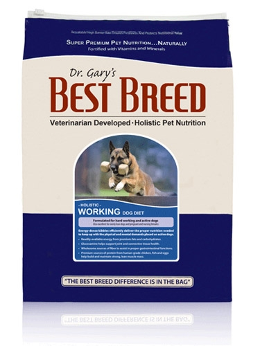 Best Breed Working Dog Diet 4Lb