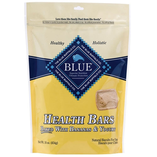 Blue Buffalo Health Bar Banana/Yogurt Dog 16OZ C=12