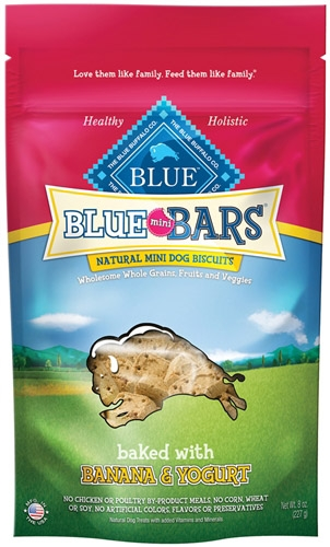 Blue Buffalo Mini Bar Banana/Yogurt Dog 8OZ C=6