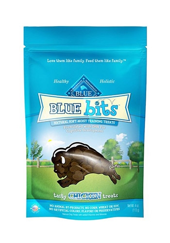 Blue Buffalo Bits Chicken Dog 4OZ C=8