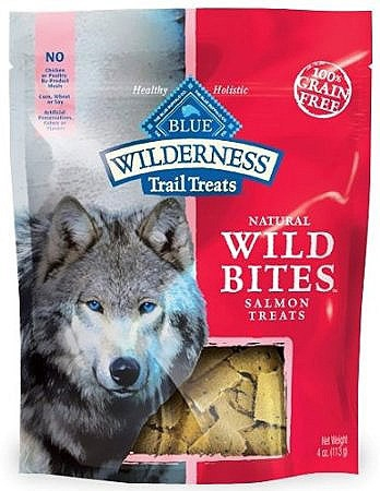Blue Buffalo Wild Bites Salmon Dog 4OZ