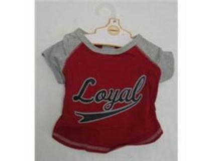 "Ethical ""Loyal"" Baseball Jersey Red X Small"