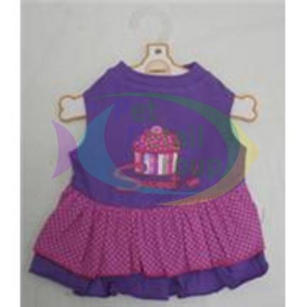 "Ethical ""Sweet"" Ruffle Dress Purple Xxsmall"