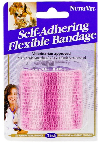2-in Pink Self-Adhering Flexible Bandage