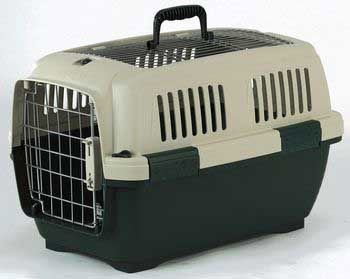 Aran 2 Cat Carrier Green/Beige