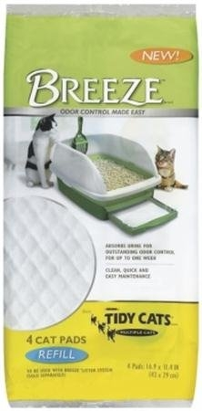 TIDY CATS BREEZE CAT PADS