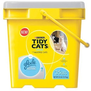 Tidy Cat Glade Odor Scp 35# Pl