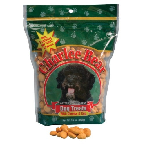Charlee Bear Cheese & Egg Dog Treats  16 oz