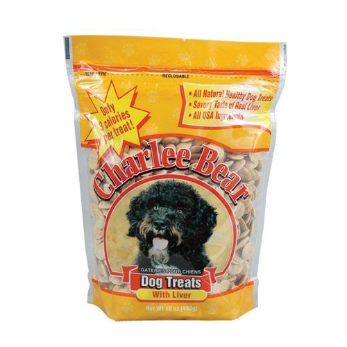 Charlee Bear Liver Dog Treats  16 oz