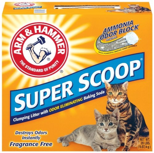 Arm & Hammer Super Scoop Clump Unscented Litter