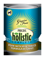 Canine Precise Holistic Complete Grain Free Pork Canned 5.5 oz.